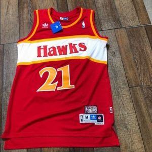 NWT Dominique Wilkins Atlanta Hawks NBA Jersey NEW